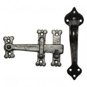 "Kirkpatrick - 8"" Suffolk Thumb Latch Set"