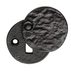 Ludlow - Standard Covered Escutcheon - Black