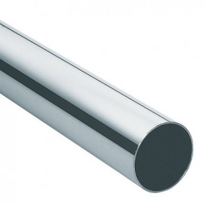 Wardrobe Tube - 870mm - Chrome Plated