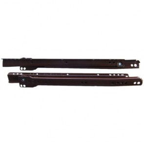 Bottom Fix Drawer Runners - 30kg - Brown
