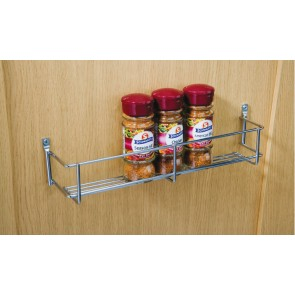 One Tier Spice Rack 400mm cc x 55mm (D) x 60mm (H)