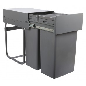 Waste Boss Pull Out Waste Bin (2x 32L)