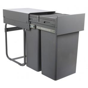 Waste Boss Pull Out Waste Bin (2x 32L)