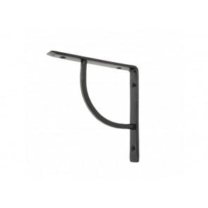 "6"" x 6"" Plain Shelf Bracket - Black"