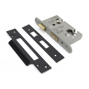 Euro Profile Sash Lock - Black (Various Sizes)