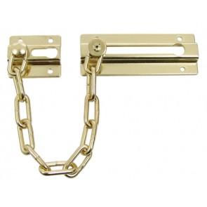 Security door slide chain