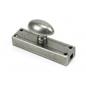 Additional External Knob for Cremone Bolt - Pewter