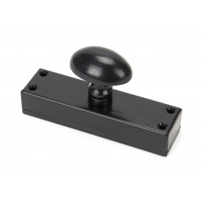 Additional External Knob for Cremone Bolt - Black