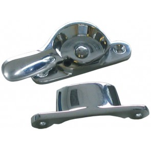 Fitch Fastener Narrow Lockable - Polished Chrome