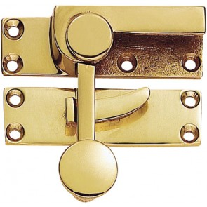 Carlisle Quadrant Fastener - Polished Brass