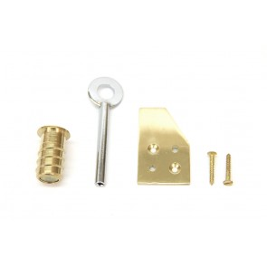 Flush Fit Sash Stop Brass