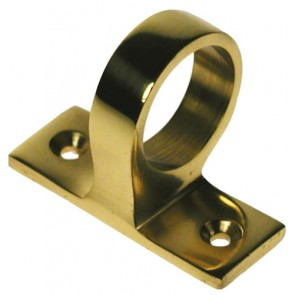 Ring Sash Lift Polished Brass