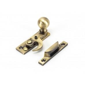 Ball Hook Fastener Non Locking - Antique Brass