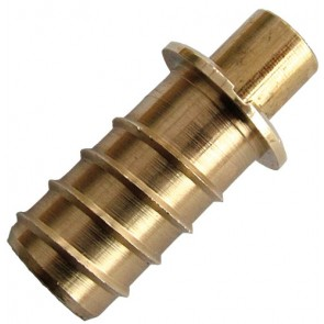 Mighton Push Ventlock - Polished Brass