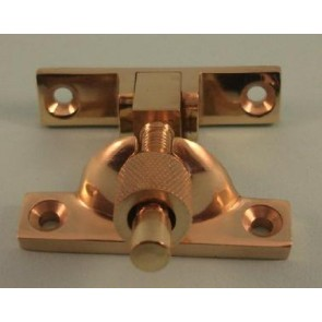 Narrow Brighton Fastener Non-Locking - Polished Brass