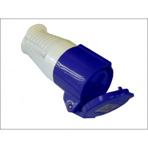 Blue Socket 240v 16amp