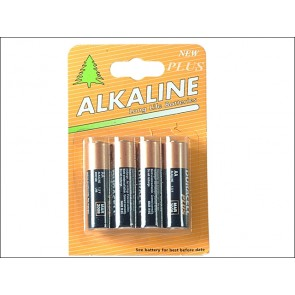 AA Alkaline (Duracell Repack) MN1500 Batteries Pack of Four