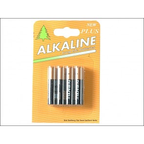AAA Duracell Alkaline (Repack) MN2400 Batteries  Pack of 4