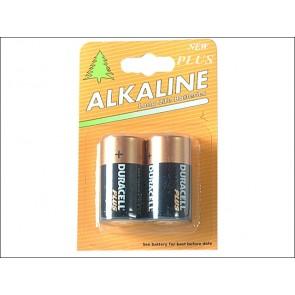 C Cell Alkaline Duracell Repack MN1400 Batteries
