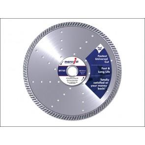 BF750 Diamond Blade Fast Precision Cut 125 x 22.2 mm