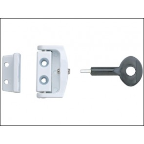 P113 Toggle Window Locks White Pack of 1