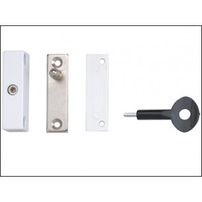 P118 Auto Window Lock White Finish Pack of 1
