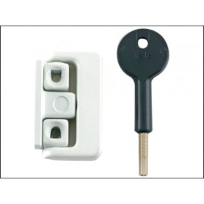 8K101 Window Latch White Finish Visi Pack