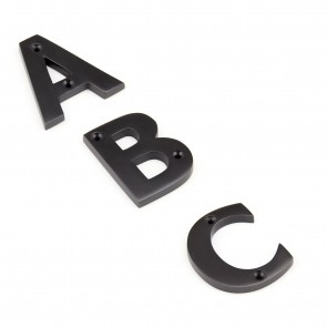 Letters A to Z - Aged Bronze