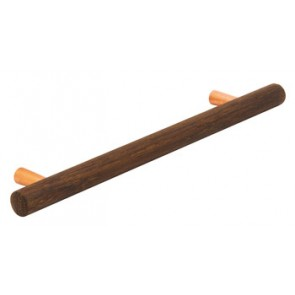 Bar Handle 218mm - Oak/Copper