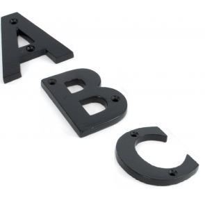 Letters A to Z - Black