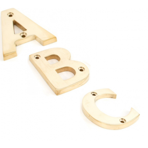 Letters A to Z - Polished Brass