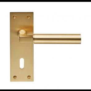 Amiata Lever Handle Range - Satin Brass