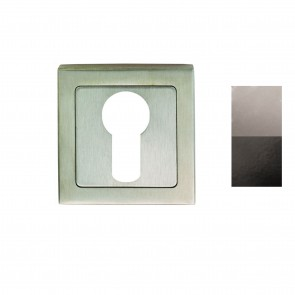 Square Euro Escutcheon (Grade 304 SS) - Various Finishes