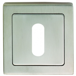 Square Lock Escutcheon - SSS (Grade 304)