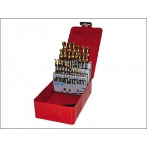 A095 Set 201 A002 HSS TiN Coated Jobber Drill Set