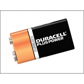 9v Duracell Alkaline 2 Pack Battery