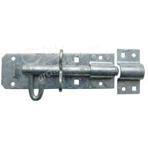 Galvanised Padlock Bolt - Various Sizes