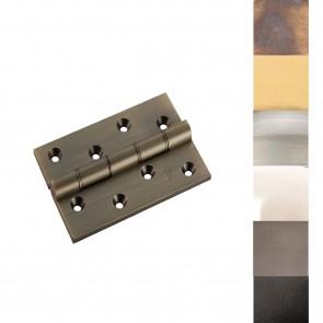 """4"""" Double Phosphor Bronze Washered Hinge (PR) - Various Finishes"""