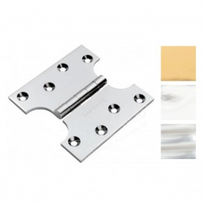 "4x2x4"" Solid Brass Parliament Hinges - (pair)"