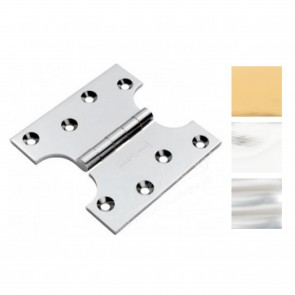 "4x3x5"" Solid Brass Parliament Hinges - (pair)"