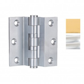 "3"" Solid Drawn Brass Stormproof Hinge - Pair"