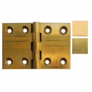 Back Flap Brass Hinges - (pair)
