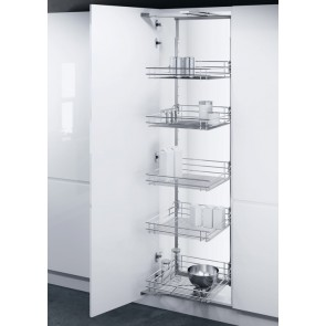 Swing Out Larder Unit 1700-1950mm (500mm or 600mm Unit) Linear Wire Base