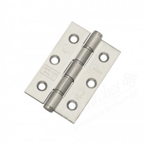 "3"" Eclipse Washered Butt Hinges (pair) - Stainless Steel"