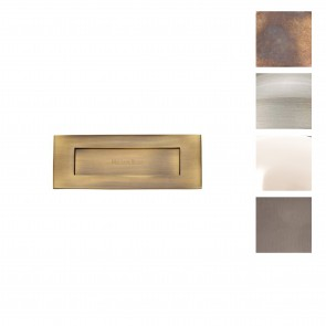 Letter Plate 305mm x 102mm - Various Finishes