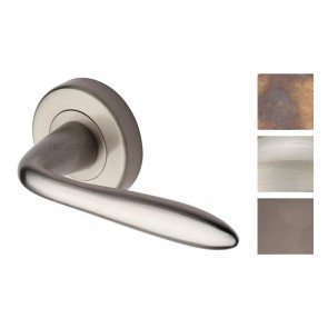 Sutton Lever on Rose Handle - Various Finishes