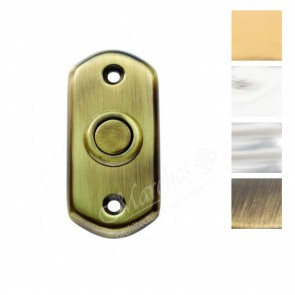 Shaped Bell Push - Various Finishes