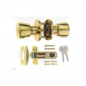 Era Knob Sets - Brass Effect