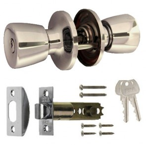 Era Knob Sets - Polished Chrome