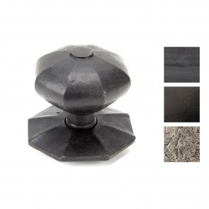 Octagonal Centre Door Knob (EXTERNAL) - Various Finishes